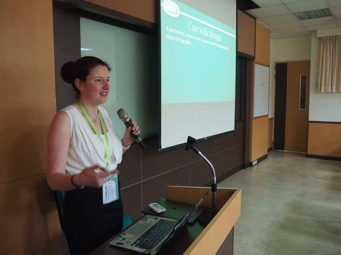 Clinical Skills Event workshop being delivered at the 63rd IPSF World Congress in Taipei, Taiwan