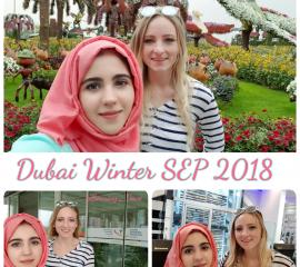Saudi German Hospital and Dubai Miracle Garden visit