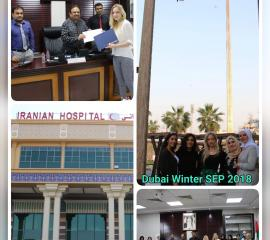 Meeting DPC dean and Iranian Hospital visit