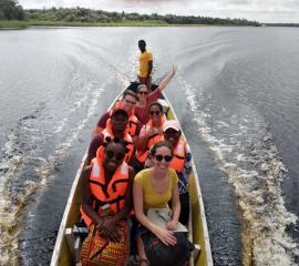 A boat ride to Nzulezu, the village built on water