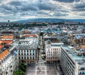 The view from St. Stephen´s Basilica