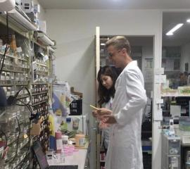 Visiting Community pharmacy