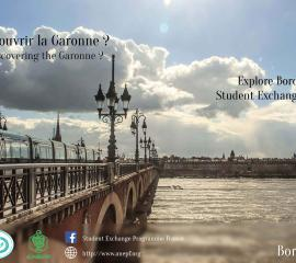 BORDEAUX - Feeling like discovering the Garonne?