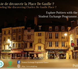 POITIERS - Feeling like discovering Charles-De-Gaulle Place?