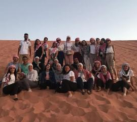 """at Wadi Rum """"Valley of the Moon'' or wait... maybe Mars?"""