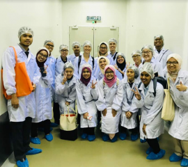Industrial visit to CCM company