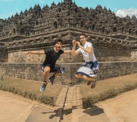 Borobudur is the biggest temple in the world, Summer SEP 2019