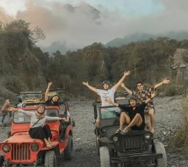 We were having fun doing  a Merapi Volcano Tour, Summer SEP 2019