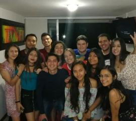 Colombian-Costa Rican cultural exchange